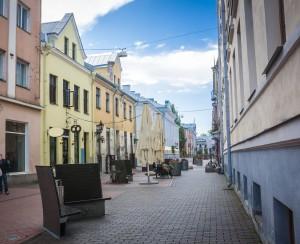 Amazing city centre of academic city Tartu, Estonia